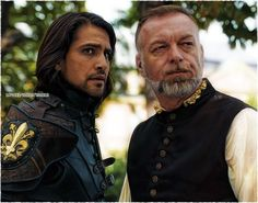 D'Artagnan and Treville. The Musketeers