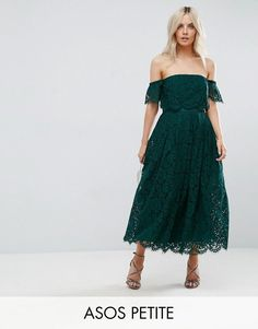 70e0bd3a7ec7 Buy Green Asos petite Midi dress for woman at best price. Compare Dresses  prices from online stores like Asos - Wossel Global