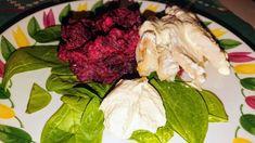 """Svéd 🇸🇪 Pácolt tőkehal tormával és tördelt céklával """"Rimmad torsk"""" Cabbage, Vegetables, Food, Essen, Cabbages, Vegetable Recipes, Meals, Yemek, Brussels Sprouts"""