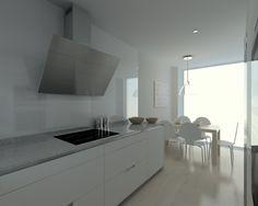 proyectos de cocina en madrid Cocina Office, Madrid, Dining, Furniture, Villas, Bathrooms, Kitchens, Home Decor, Kitchen Photos