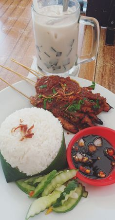 Satai, Food And Drinks, Satai. Cute Food, Yummy Food, Snap Food, Food Snapchat, Food Cravings, Food Photography, Clean Eating, Food Porn, Food And Drink