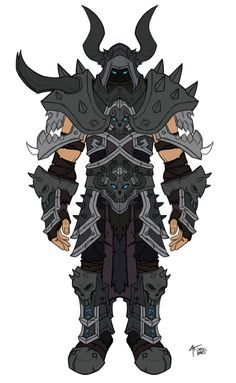 Death Knight Concept from World of Warcraft: Legion