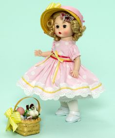 Madame Alexander In Your Easter Bonnet 8-inch Collectible Doll - Holidays