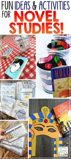 Ideas and Activities for Novel Studies in the classroom + a big GIVEAWAY!