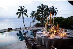 Our Muse - Wedding Photos - Be inspired by Allison & Gavin's elegant Caribbean wedding at Villa Aquamare, Virgin Gorda, Virgin Islands