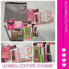 Fall 2013 Giveaway! #giveaway #beauty #joinnow #makeupaddict #beautyjunkie   http://luvabellcouture.blogspot.com