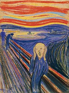 "Edvard Munch. The Scream. 1895. #7 all time most expensive painting in history. 119.9 million. Sotheby's New York , May 2012. Buyer: anonymous This iconic work was the most expensive painting ever sold at auction until it was surpassed by Bacon's ""Three Studies of Lucian Freud"". The work is the most colorful of the four versions of Edvard Munch's masterpiece 'The Scream', and the only one still in private hands."