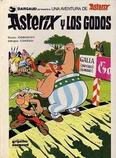 Asterix y los Godos, edición en castellano