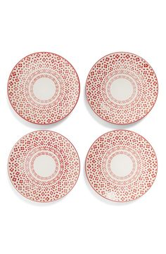 Gorgeous dessert plates for Thanksgiving.
