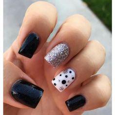 Black Nails, Simple Nails, Ideas Para, Nail Designs, Nail Polish, Nail Art, Tips, Quotes, Simple Toe Nails