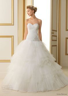 Luna Novias 2013 Wedding Dresses | Wedding Inspirasi