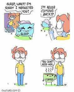 Memes Relatable Sleep 55 New Ideas Shen Comics, Owlturd Comics, Life Comics, Funny Comics, Really Funny Memes, Stupid Funny Memes, Haha Funny, Funny Cute, Funny Fails