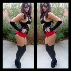 Sexy Ms Marvel cosplay Halloween Costume by SabraKadabraFashion