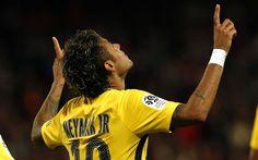 Download wallpapers 4k, Neymar, goal, PSG, soccer, football stars, Ligue 1, Paris Saint-Germain, footballers, Neymar JR