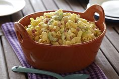 Old-Fashioned Macaroni Salad from FoodNetwork.com
