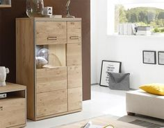 Esszimmerschrank design  Highboard aus Kiefer Massivholz Landhaus Design highboard ...