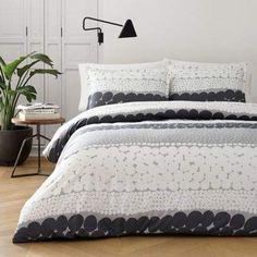 Jurmo Twin Comforter Set in Grey #marimekko#Set#Comforter