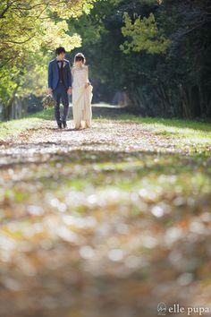 秋の散歩道*おしゃれドレスと撮影 | *elle pupa blog*