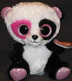 Rare Beanie Boos | Details about Ty Beanie Boo Penny Justice Exclusive - Rare Panda