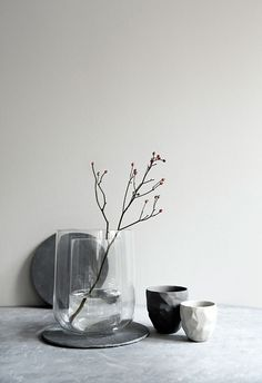 Fill VASE VASE with fresh flowers in either vases – or both at the same time.