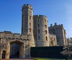 A hint of spring at Windsor castle. Visit Britain, Windsor Castle, Exeter, Lake District, Tower Bridge, Edinburgh, Barcelona Cathedral, Notre Dame, London