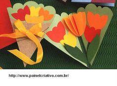 Mother's Day crafts for kids. Kids Crafts, Mothers Day Crafts For Kids, Fathers Day Crafts, Mothers Day Cards, Preschool Crafts, Kids Diy, Spring Art, Spring Crafts, Holiday Crafts