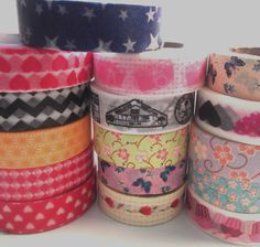 SALE Washi Tape Set  Choose Any Three Designs by KeyLimeSupplies, $8.25
