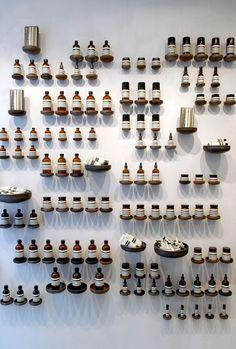 product display, wall, pin board