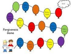 Games and other activities for Family Night: forgiveness game
