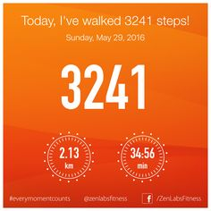 Sunday, May 29, 2016 - 3241 steps