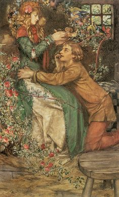 Natural Magic - Eleanor Fortescue-Brickdale -1870