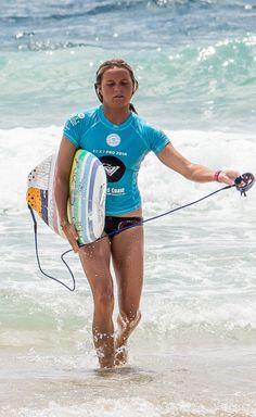 Pro Surfer Keely Andrew (AUS) Roxy Pro Snapper Rocks Pro 2014
