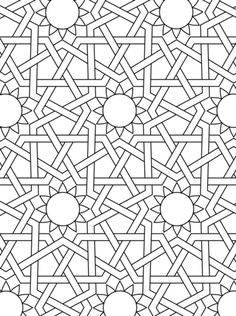 islamic ornament mosaic coloring page from mosaic category select from 24104 printable crafts of cartoons