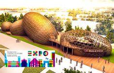 Le Universal Exposicion de Milan, dedicada a le nutricie mundial