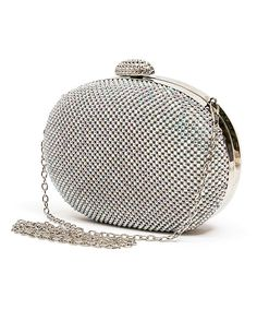Lady Couture Silver Dolly Clutch