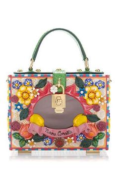 Dolce Box Bag Patissere Theme by DOLCE & GABBANA for Preorder on Moda Operandi