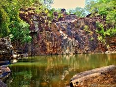 Australian outback, jungle/ waterfall. More on www.travel-photographs.net!
