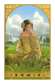 Padme in a Meadow by JOSHUA MIDDLETON || I often tried to do my hair and makeup like hers in this scene when I was fifteen.