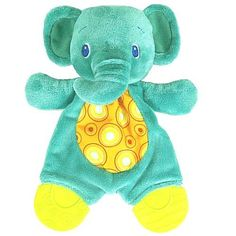 Bright Starts Snuggle & Teethe Blue Elephant Teether $12.40