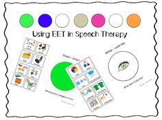 Using EET in speech therapy