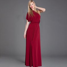 Long Transformer Dress Ruby, $59, now featured on Fab. Made from jersey...can be twisted, draped, cinched in 25 different ways...I love this dress...perfect for anything!