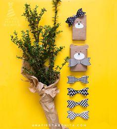 18 ideas originales y divertidas para envolver los regalos de los peques