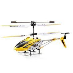 De S107G is dé beginners helicopter van het bekende merk Syma. Door de ingebouwd gyroscoop is dit model bijzonder stabiel. Er wordt gebruik gemaakt van een 4 in 1 infrarood ontvanger. De Syma S107G is 22 cm lang en beschikt over een aluminium frame. De S107G is voorzien van een 3 kanaals transmitter. | Verkrijgbaar voor €24,95 - http://www.rchelicoptershop.nl/rc-helicopters/syma-s107g