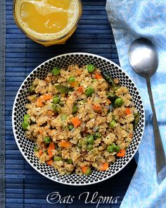 oats-upma-with-vegetables by Raks anand, via Flickr