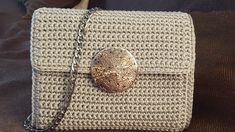 Crochet Bags, Macrame, Monogram, Michael Kors, Pattern, Coin Purses, Purses, Patterns, Crochet Purses