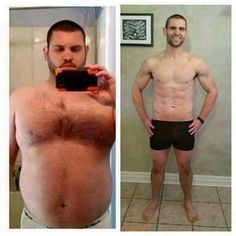 what is before and after weight loss