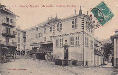 Seyne-les-Alpes - vintage -  Places des Trois Rois