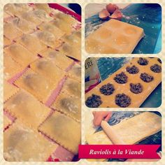 Raviolis Maison à la Viande - Recette Sicilienne