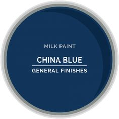 China Blue Milk Paint from General Finishes . New low VOC formula . Blue Paint Colors, Paint Colors For Home, House Colors, Blue Bedroom Colors, Teal Paint, Old World Furniture, Furniture Dolly, Furniture Online, Blue Palette