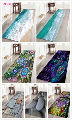 Rosegal beach print area rug cute home decor blue rugs for bedroom livingroom Winter Home Decor, Cute Home Decor, Winter House, Fashion Kids, Latest Bed, Best Duvet Covers, Goth Home, Wedding Decorations On A Budget
